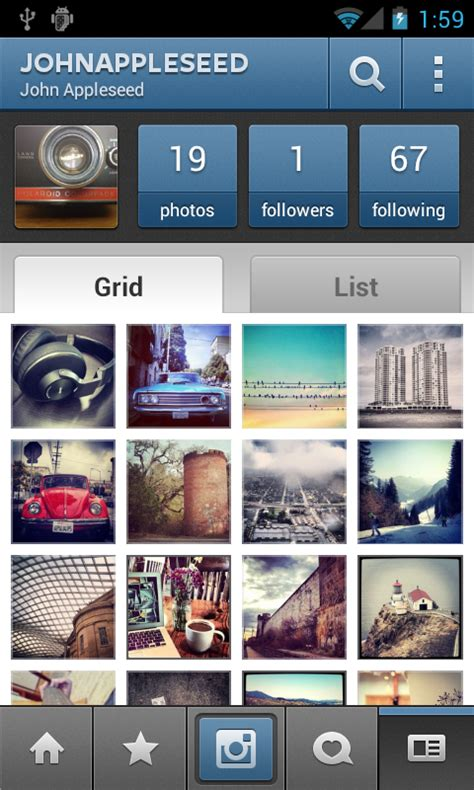 layout android instagram instagram for android now available for download
