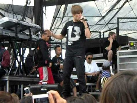 Who Says A Concert Isnt Swag by Pretty Boy Swag Justin Biebers Soundcheck Allentown Pa