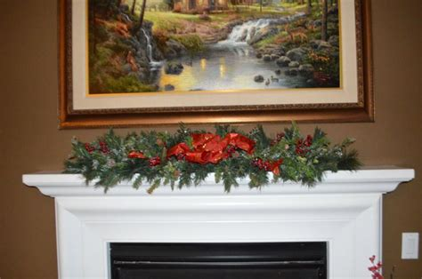 6ft cascading fireplace garland 11 best cascading garland for mantle images on deco and decor
