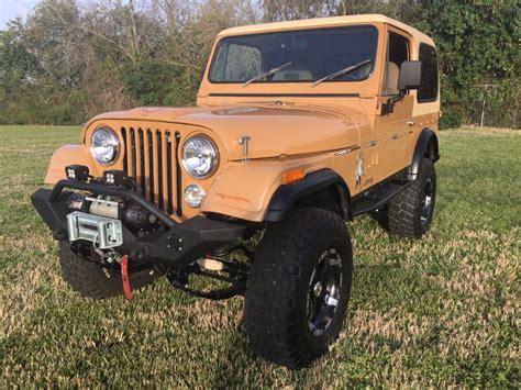 offroad jeep cj restored 1978 jeep cj cj7 offroad for sale