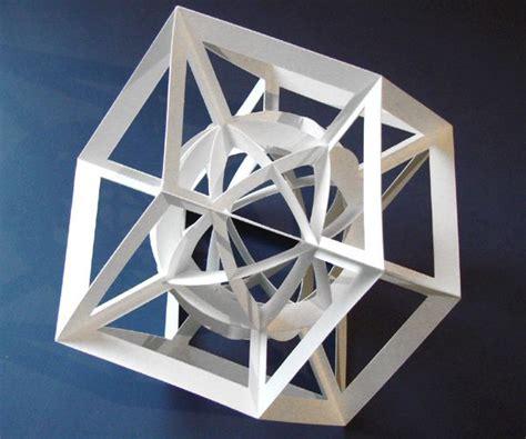 Kirigami Origami - geometric kirigami origami of and daniel o connell