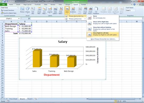 chart layout excel 2010 comma training page 125