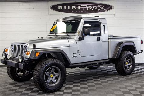 brute jeep conversion pre owned 2006 jeep wrangler rubicon brute conversion silver