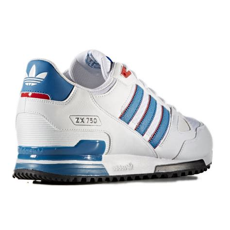 Adidas Zx 750 Blue White s76194 adidas shoes zx 750 white blue 2016