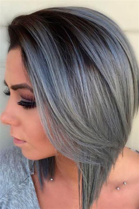 gray hair color ideas best 25 grey hair styles ideas on grey hair