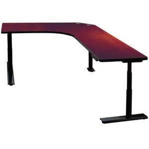 height adjustable maple desk wayfair