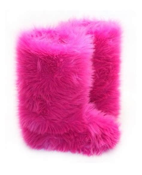 pink fuzzy boots pink fluffy wuffies classic boots northstar