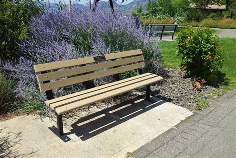 memory bench memorial benches osoyoos