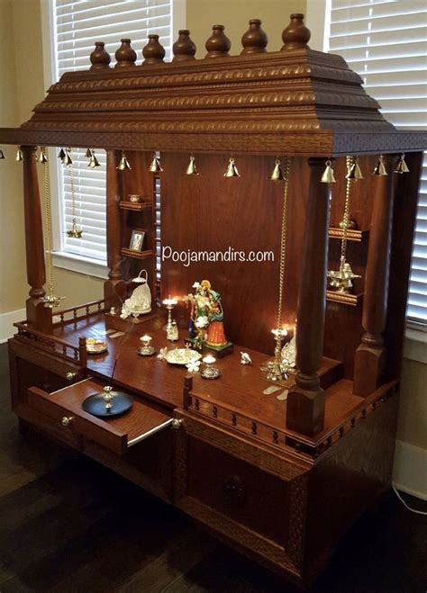 pooja mandirs usa chitra collection open models   pooja room design pooja room door