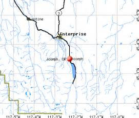 map of joseph oregon joseph oregon or 97846 profile population maps real