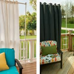 Outdoor Privacy Curtains Outdoor Privacy Curtains For Patio Rooms