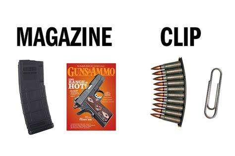 Clip Meme - 9 most misused gun terms guns ammo