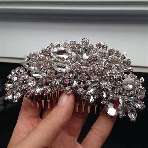 Rhinestone Hair Clip 9 2 5 cz rhinestone hair clip hairpin hair