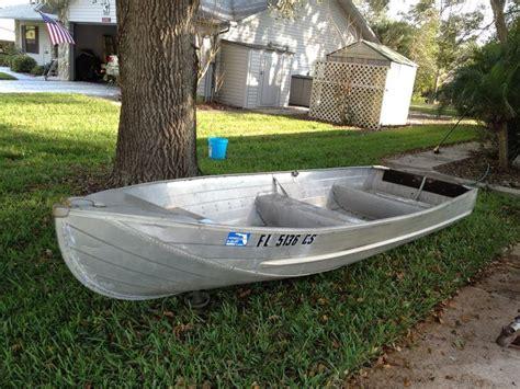 sylvan row boats nice polished 14 aluminum jon boat perfect for florida