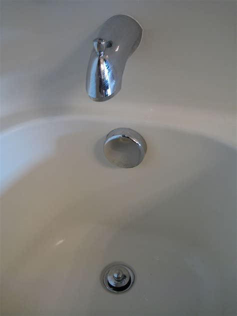 bathtub stopper how to fix problems with your bath tub drain stopper