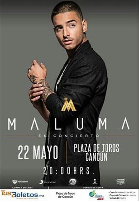 maluma en concierto 2016 concierto de maluma en canc 250 n quintana roo m 233 xico 22