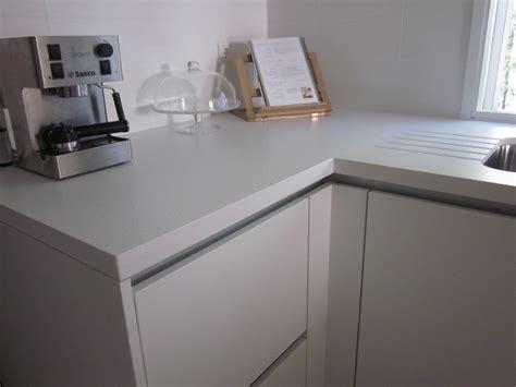 encimera silestone blanco foto encimera de cocina en silestone blanco zeus de