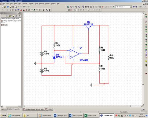 why zener diode is used as voltage regulator op why use two power sources when designing a voltage regulator using a zener diode