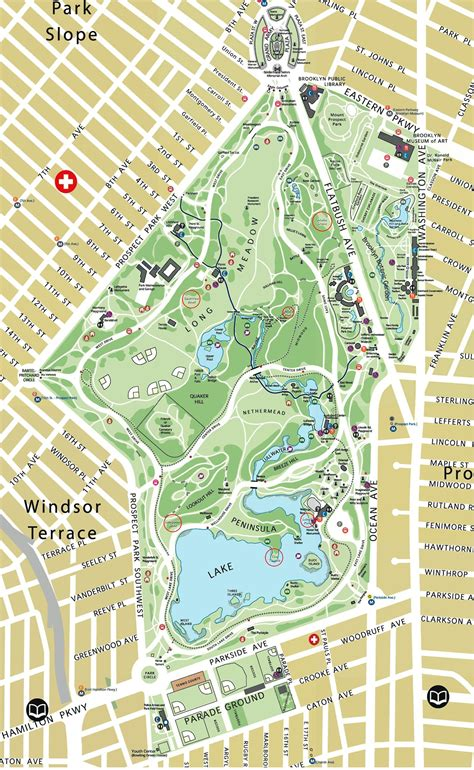 Map Prospect Park Brooklyn Movie Search Engine At Search Com New York Botanical Garden Map Pdf
