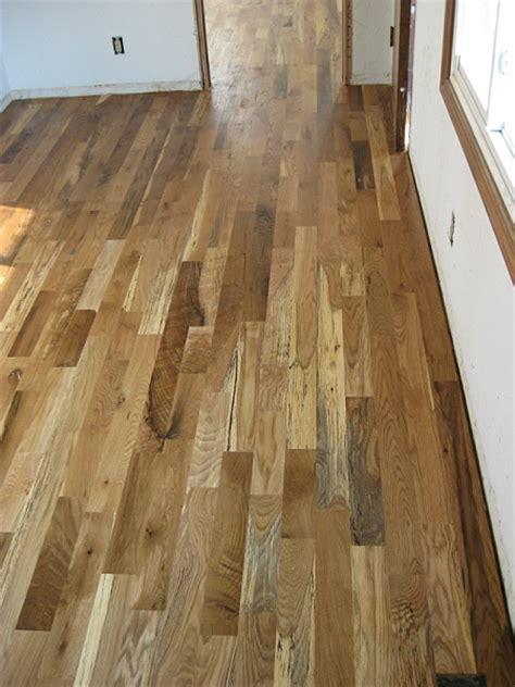 Hardwood floor installation Sanding & finishing