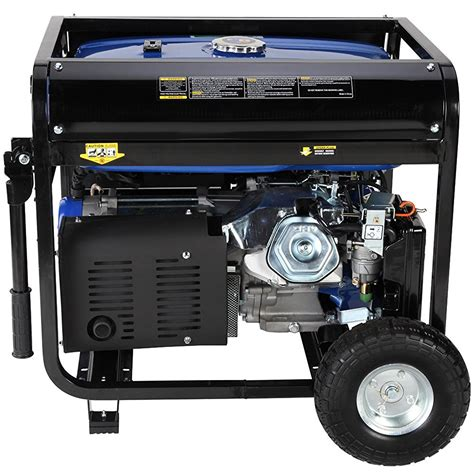duromax xp10000e gas powered portable generator review