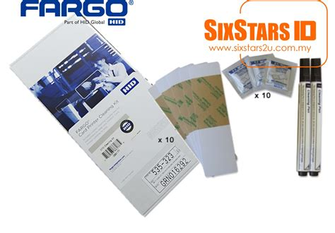 Ribbon Colour For Printer Dtc1250e Ymcko 45500 fargo cleaning kit 86177