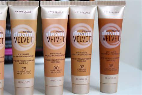 Maybelline Velvet impression maybelline velvet foundation