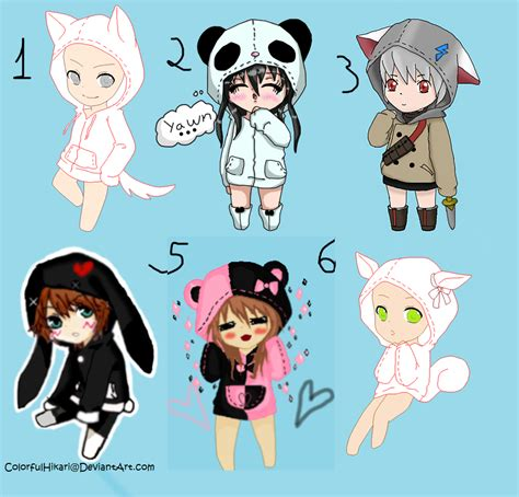 How To Draw Chibi Boy Clothes Free Collab Chibi Animals Clothes Closed By Xxshinekazamixx by How To Draw Chibi Boy Clothes Free