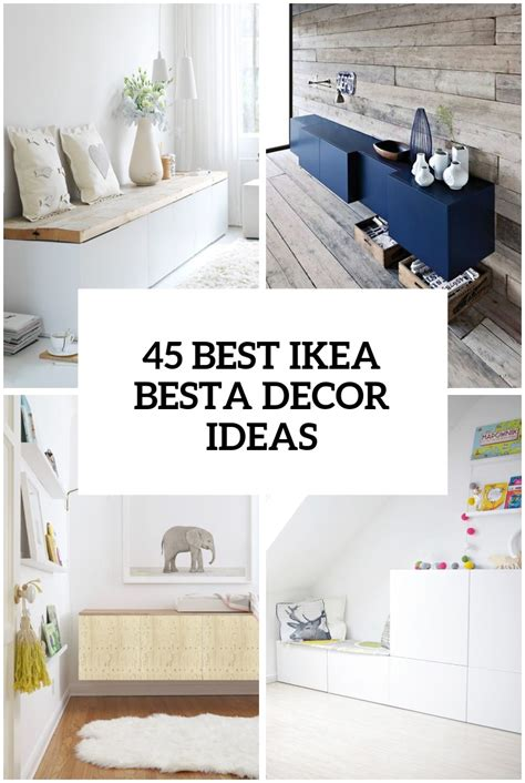 besta ideas 45 ways to use ikea besta units in home d 233 cor digsdigs