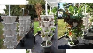 Backyard Growing System Large Stackable Planter 12 5 Quart Pots Amp Planters