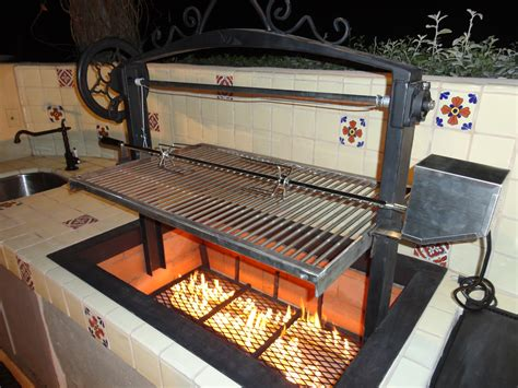 Handmade Barbecue Grills - custom bbq grills car interior design