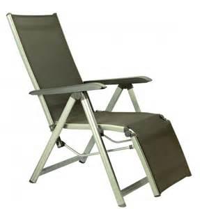 fauteuil relax pliant fauteuil relax pliant basic kettler fauteuil de jardin multipositions en alu et toile mobilier