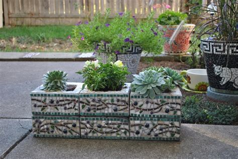 Ideas Design For Cement Planters Concept Cinder Block Garden Ideas Furniture Planters Walls And Decor