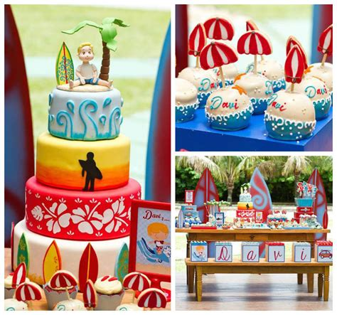 themed parties for november kara s party ideas surf themed birthday party via kara s