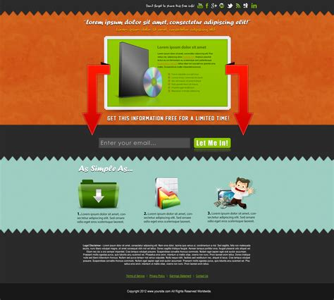 high quality plr squeeze page templates 5