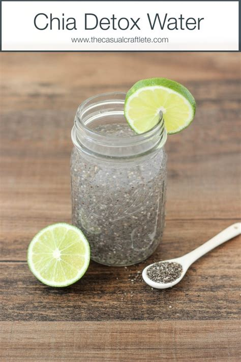 Chia Seeds Detox Lose Weight by Chia Detox Water Oh My Creative