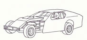 free printable coloring pages nascar cars images