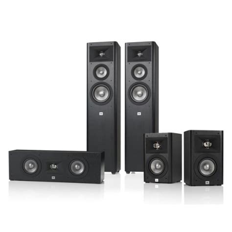 jbl studio 270 5 0 home theater speaker system package black