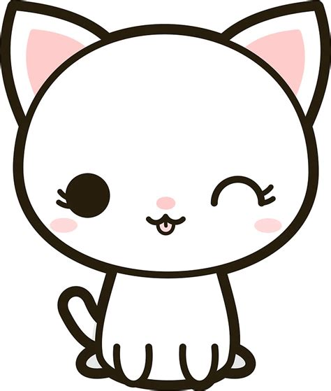 kawaii clipart kawaii cat clipart clipartxtras