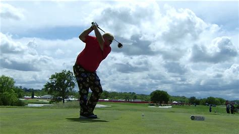 john daly swing slow motion john daly golf swing in slow motion youtube