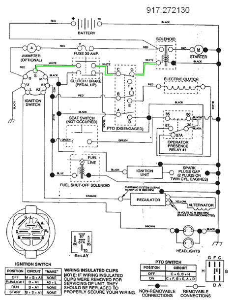 craftsman yts 4000 engine wiring diagram craftsman lt2000