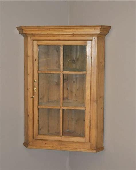 Pine Cupboard Pine Corner Cupboard 98055 Sellingantiques Co Uk