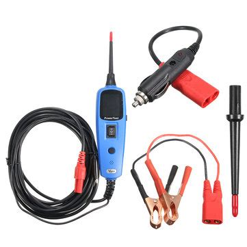 Sale Power Supply Tester power supply testing circuit tester electrical system diagnostics sale banggood sold out