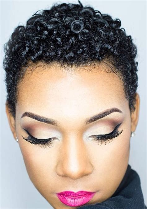 how to tight american hair 40 short natural hairstyles for black women
