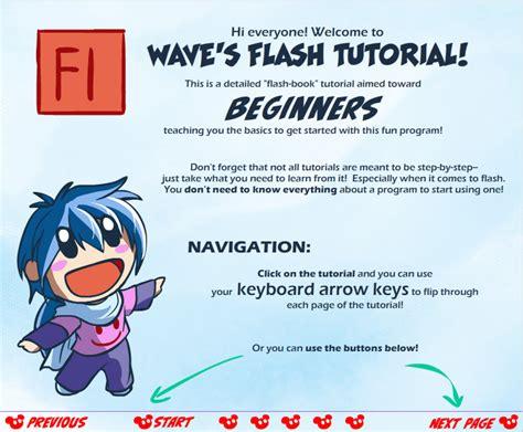 tutorial flash for beginner wave s flash for beginners tutorial by suzuran on deviantart
