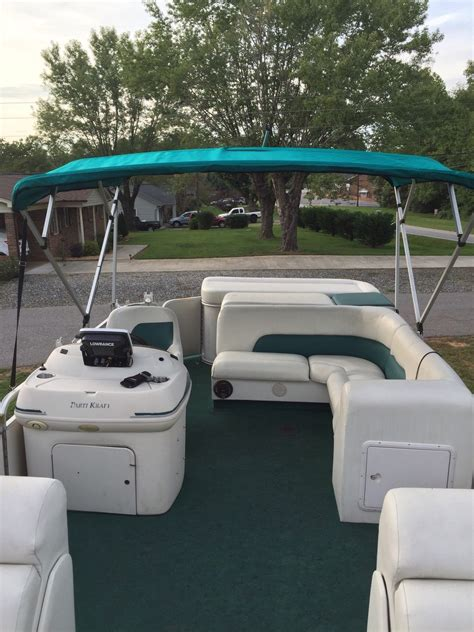 parti kraft pontoon seats parti kraft 2001 for sale for 1 108 boats from usa
