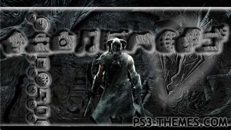 Theme Psp Skyrim | ps3 themes 187 search results for quot skyrim quot