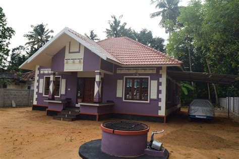 cost of home building low cost house design at trivandram building designers