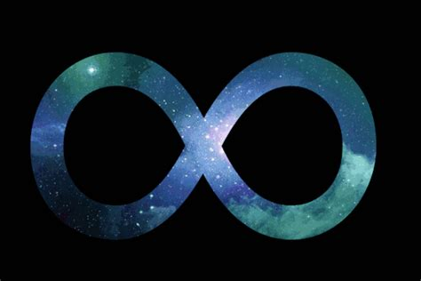 infinity sign on