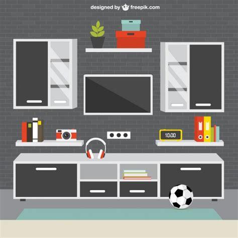 free living room furniture modern living room furniture vector free